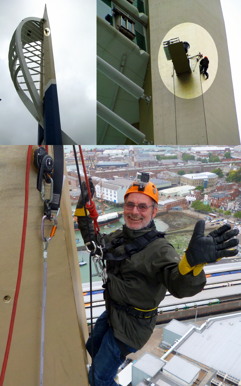 Rob Hoole Spinnaker Tower abseil 28 Aug 2016 compilation.jpg