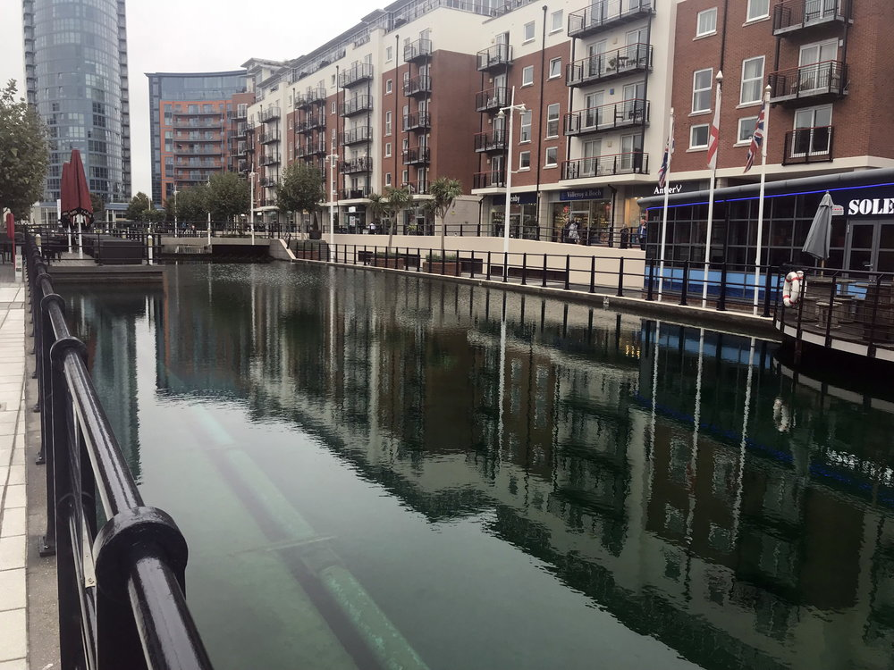 Pool B at Gunwharf Quays