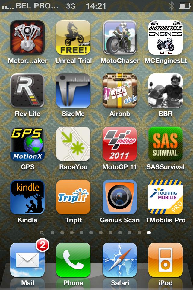 Apps for bikers - motorrijden