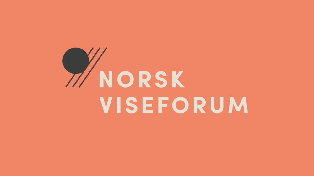 Ny profil - Her ser du Norsk Viseforums nye logo, nettsiden er kledd i våre nye farger og nedenfor ser du dem på våre nye profileringsprodukter.