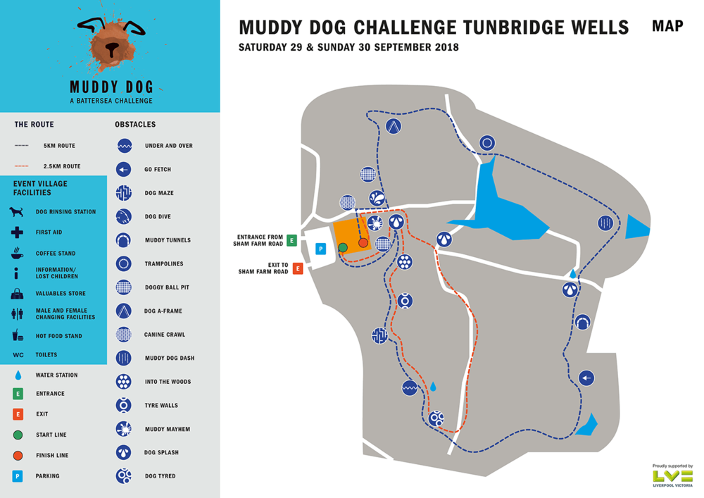 Tunbridge Wells route map