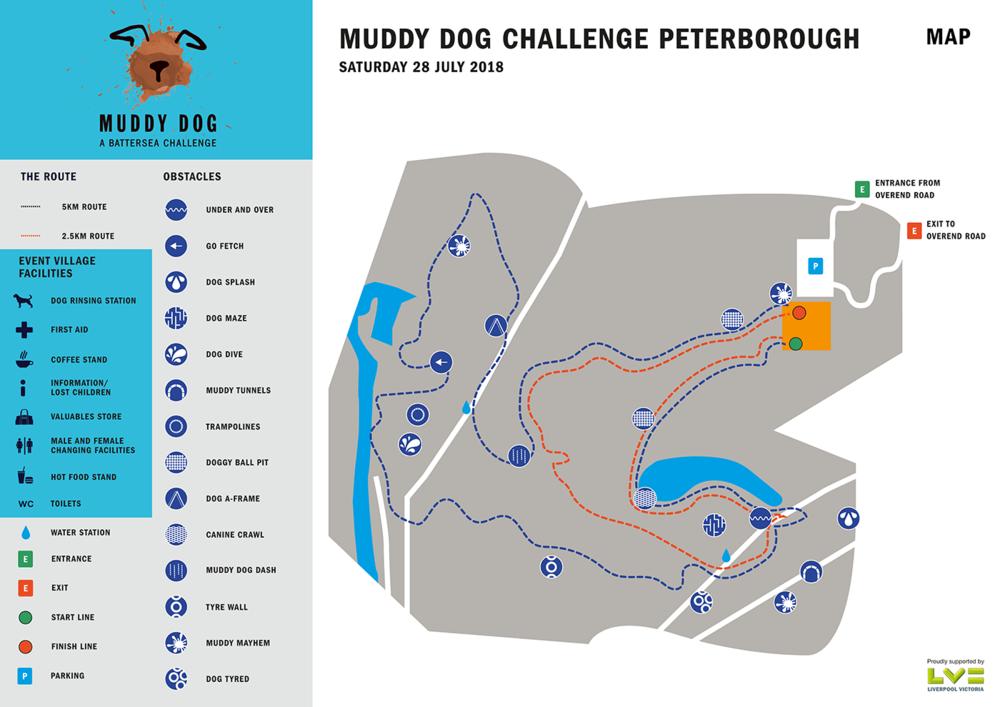 Peterborough route map