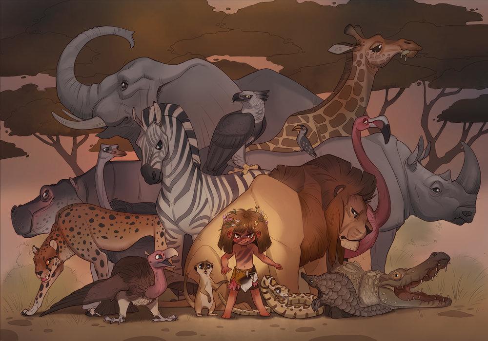 Savannah the Wild Child Princess