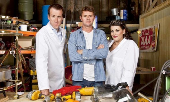 Food Factory - BBC1 6 x 30minsI tear apart supermarket food and put it back together again in my barn/workshop to discover how it all works.  Science, food and some serious mayhem.