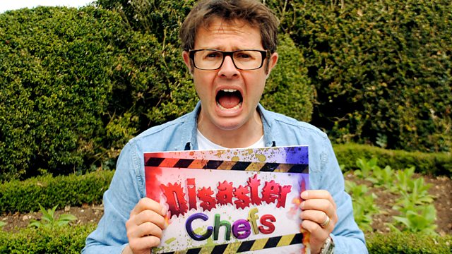 Disaster Chefs - CBBC 12 x 30minsIn Disaster Chefs I take parents who are terrible cooks and set them an almost-impossible challenge. HAH! UK's highest rated children's TV show during TX