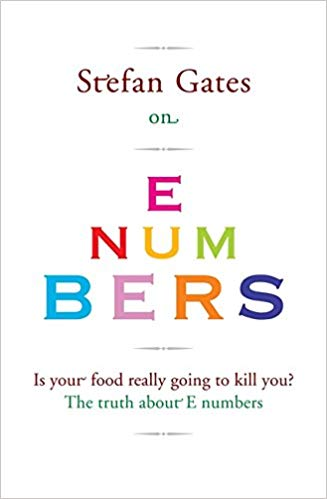 Stefan Gates on E Numbers - Hamlyn, 2010.A myth-busting celebration of E's: the additives and preservatives that make up Britain's most feared ingredients. If you think nature is good and Es are bad, you'd be wrong: the natural world is awash with dangerous toxins (apples contain cyanide, potatoes contain toxic solanine), yet E number substances make up 99.99% of every breath you take.