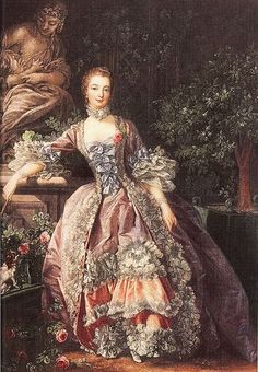 Madame de Pomadour by Boucher 1759