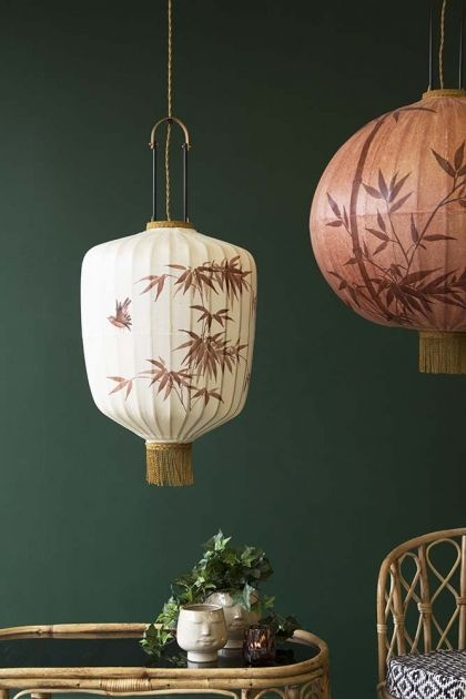 Japanese vintage style lanterns, Rockett St. George