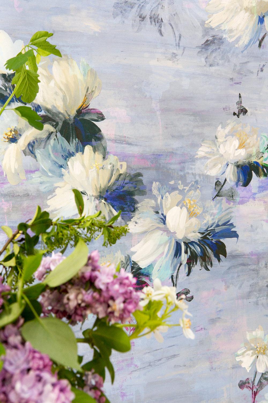 Nature as Art wallpaper by Salon Libertine