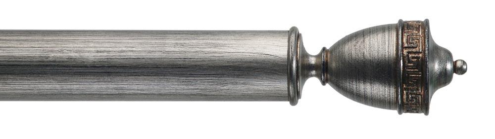 - Naxos in black distressed silver
