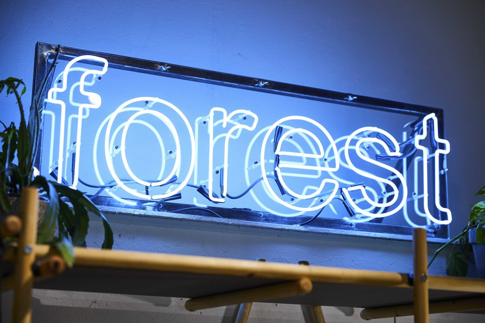 Forest Neon - Forest London - By Lumens Of London