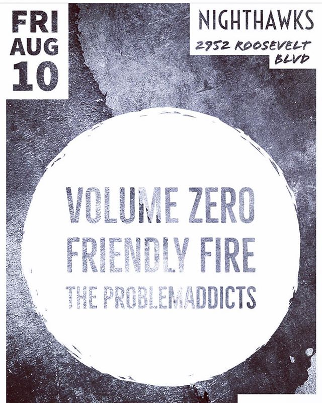 @volumezerohxc will be playing Jacksonville Friday night with another Get Rad band, @friendly_fire_official and our homies from @ajamrecords the super ripping @theproblemaddictsfl Gonna be a killer time! #livemusic #getradrecords #ajamrecords #getradcrew #getradorgetfucked #jax #floridapunk #indianahxc #tour #getinthevan #roaddogs #5menandavan #getradfactory #label #recordlabel #sleepover #cuddlesandsnuggles