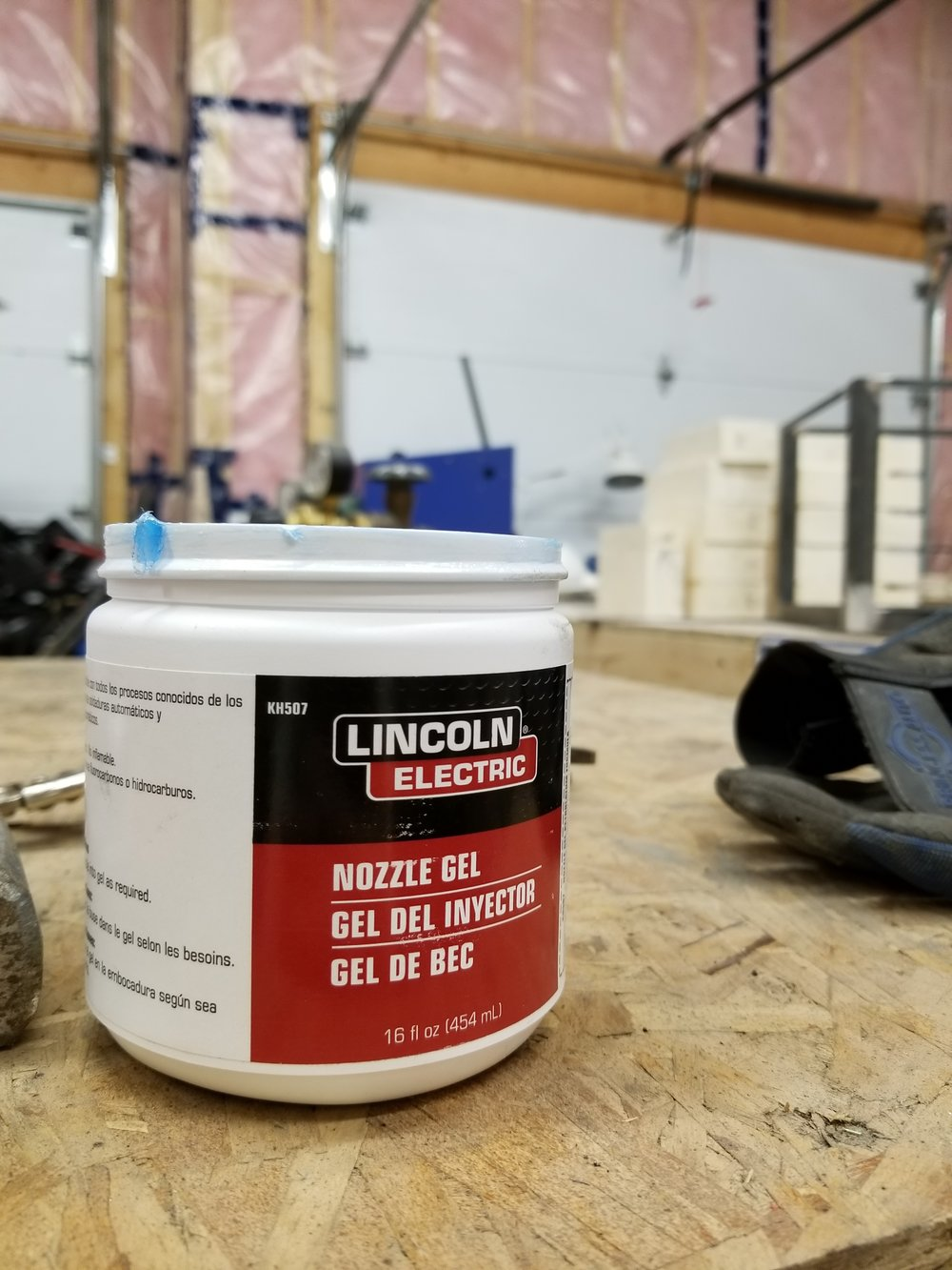 I can't weld without this stuff. It works so well.