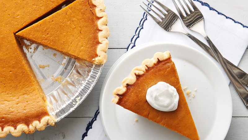 Canada/USA - Usually served over Thanksgiving, pumpkin pie is a dessert rather than the side dish of pumpkin fritters we have in South Africa.