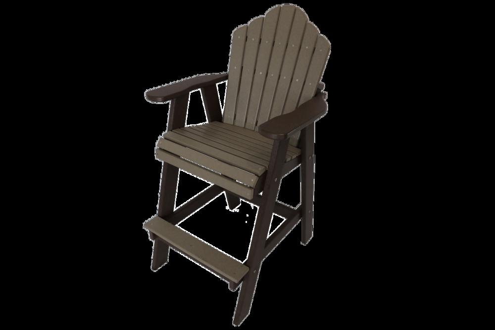 Bar Height Fixed Armchair