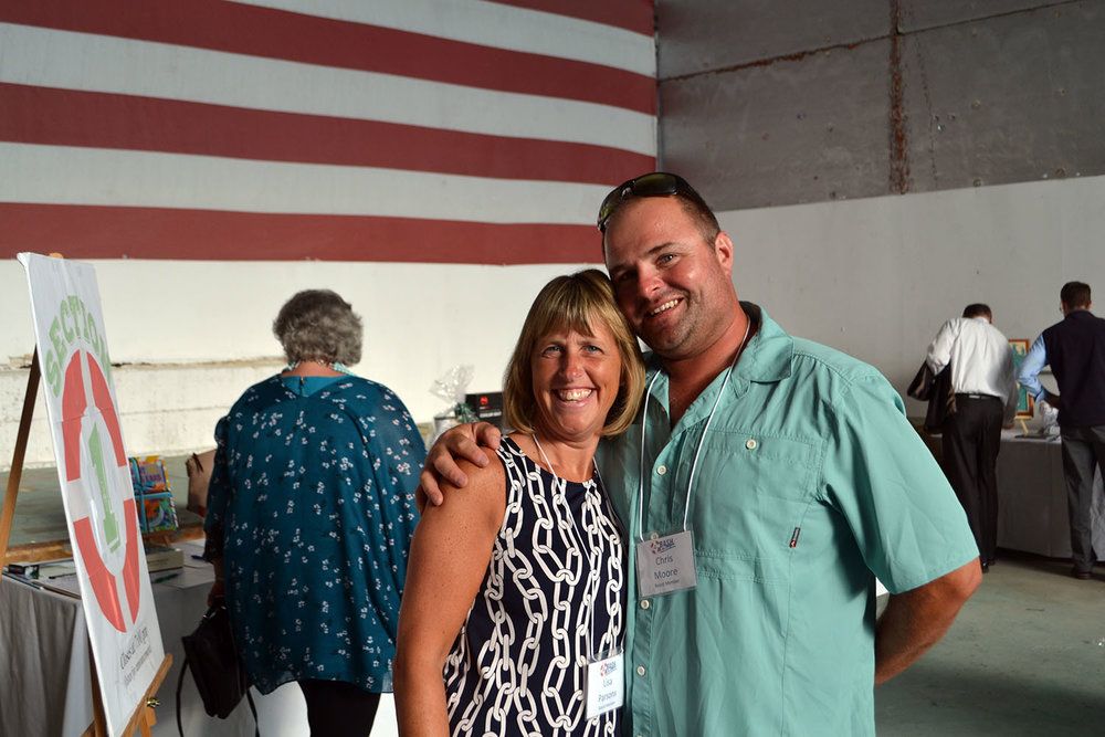 Lisa and Chris volunteer on our Board of Directors, and also represent two of our event sponsors: Bar Harbor Bank & Trust and the Northeast Harbor Fishermen…