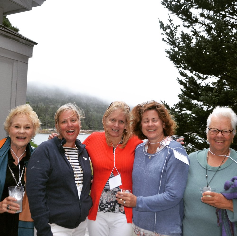 Cyndi, Nancy, Liz, Karen, and Axie were a big reason behind the success of our recent Bash at the Boatyard…