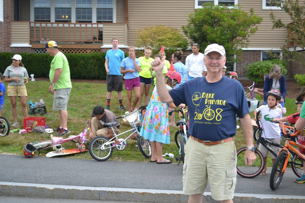 A vintage 2008 t-shirt at the 2015 edition of the Bike Parade & Ice Cream Social…