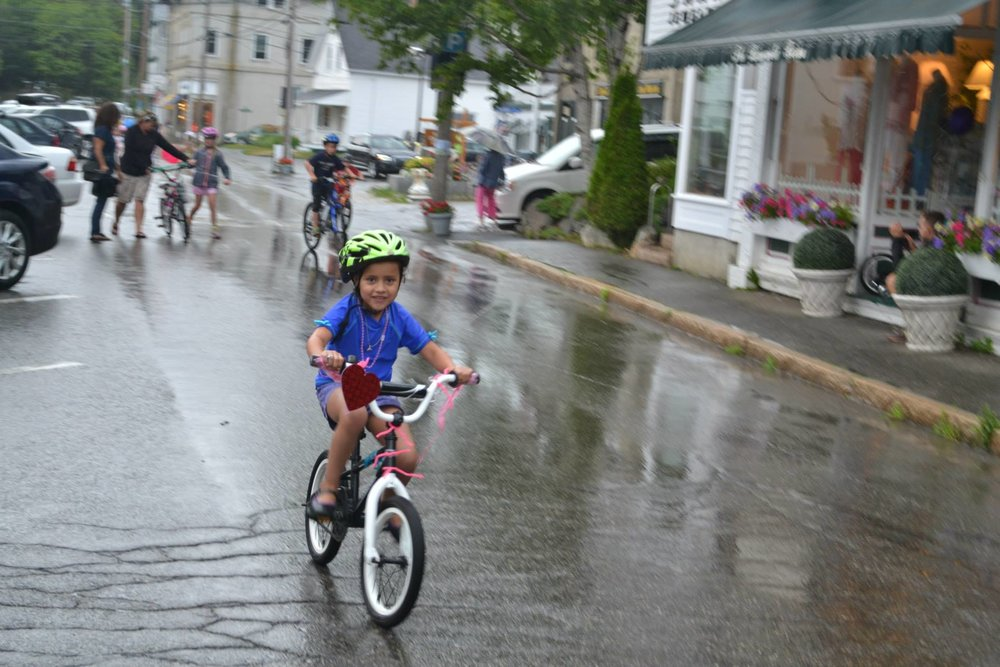 A little rain didn't slow down the fun in 2015…