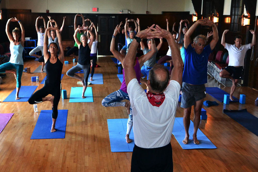 Diving Play Yoga classes were a hit all summer long…