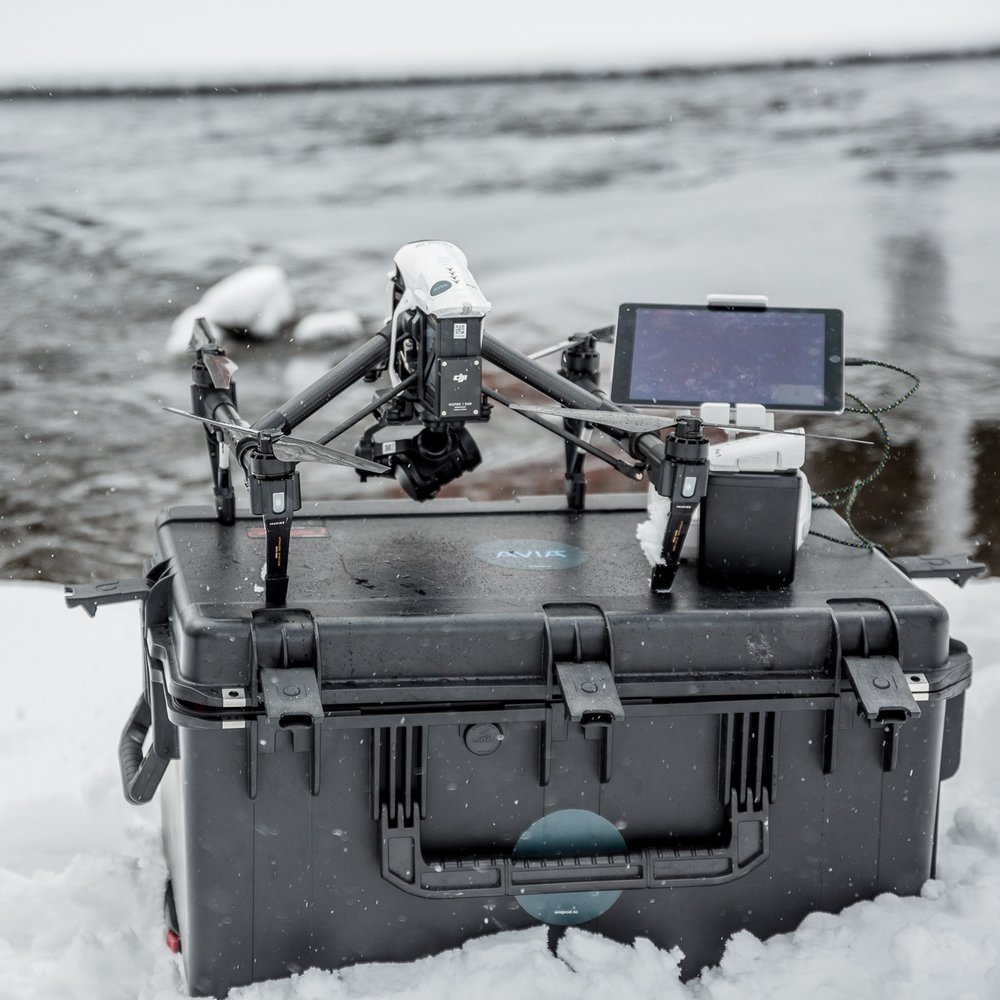 opptak MED DRONE - Filmopptak med drone fra 9.900,- per dag.