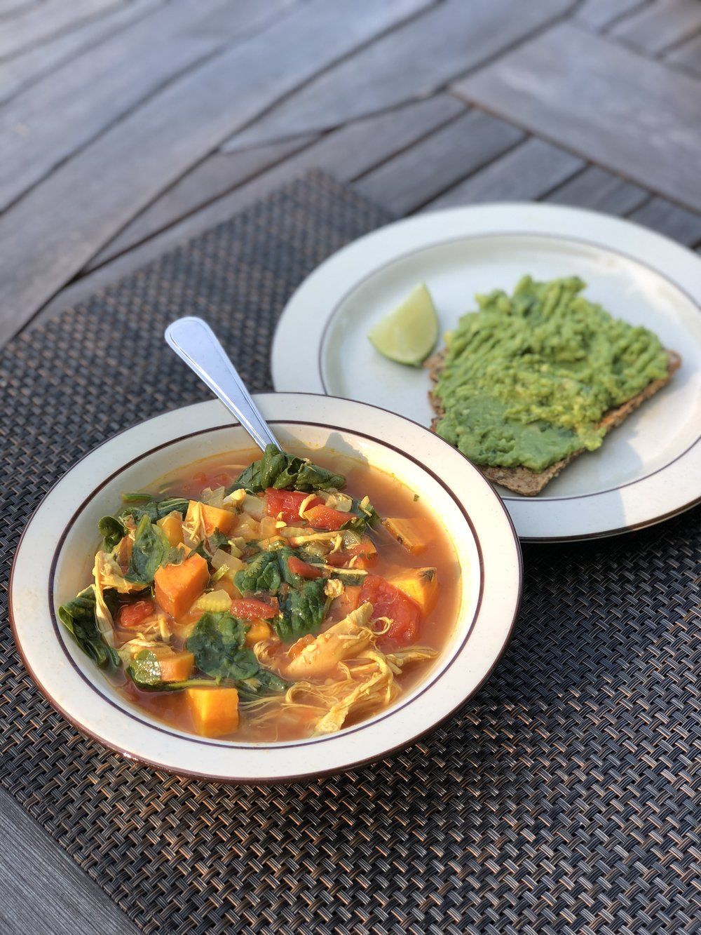 Keto Moroccan Chicken Soup - September 20, 2018