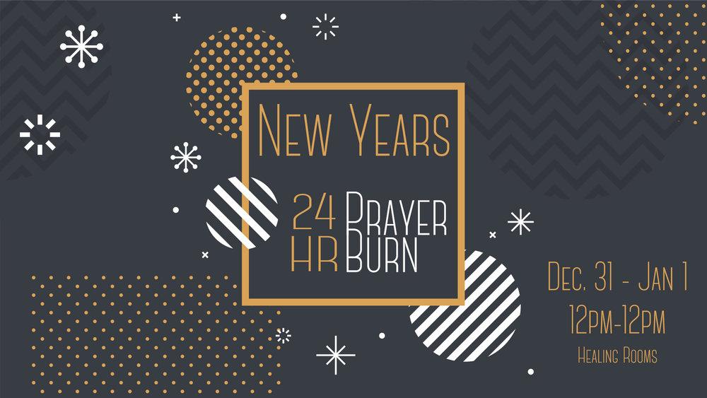 24 Hour Prayer Burn — New Life City