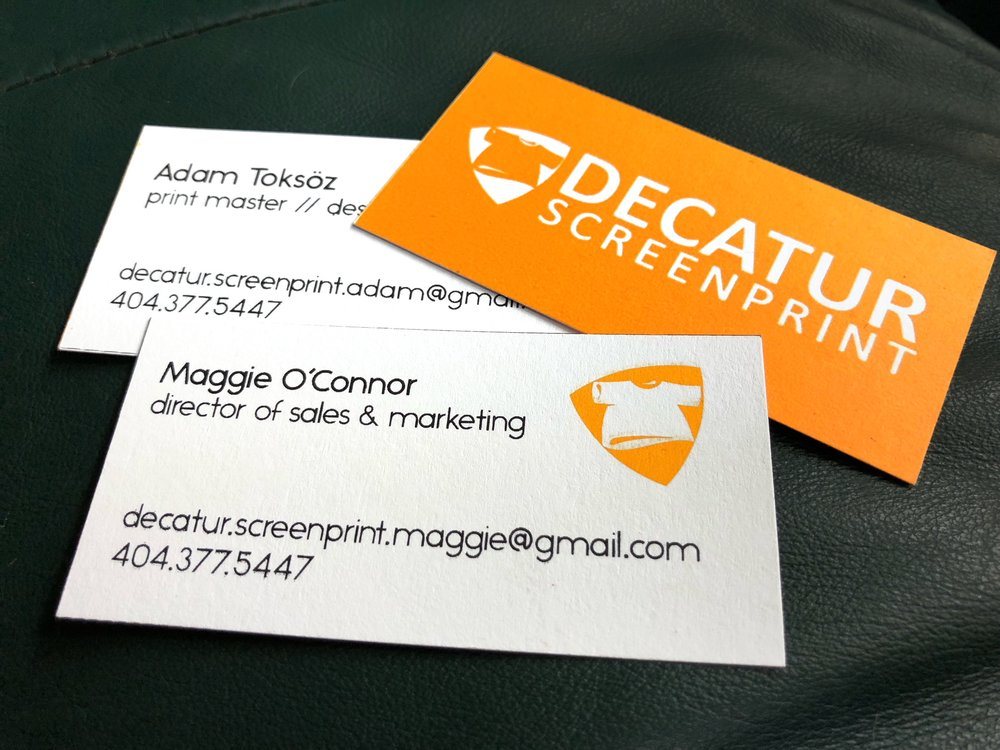 flat-stock paper — Decatur Screenprint & Embroidery