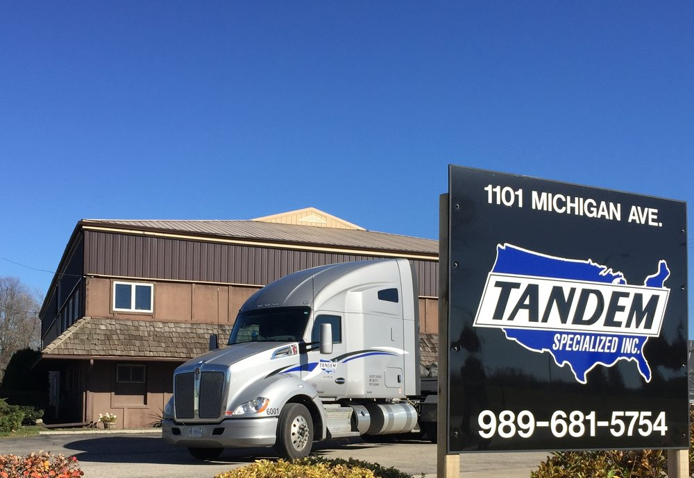 Tandem Corporate Headquarters: - 1101 Michigan Ave. St. Louis, Michigan 48880Phone. 989.681.5754Fax. (989) 681-2216Email. contact@tand.comMonday - Friday7:00am - 6pm ESTSaturday - SundayClosedMC-841373