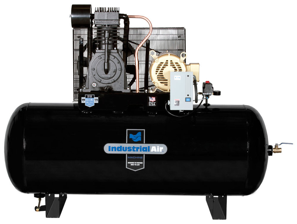 Electric Two–Stage Air Compressors