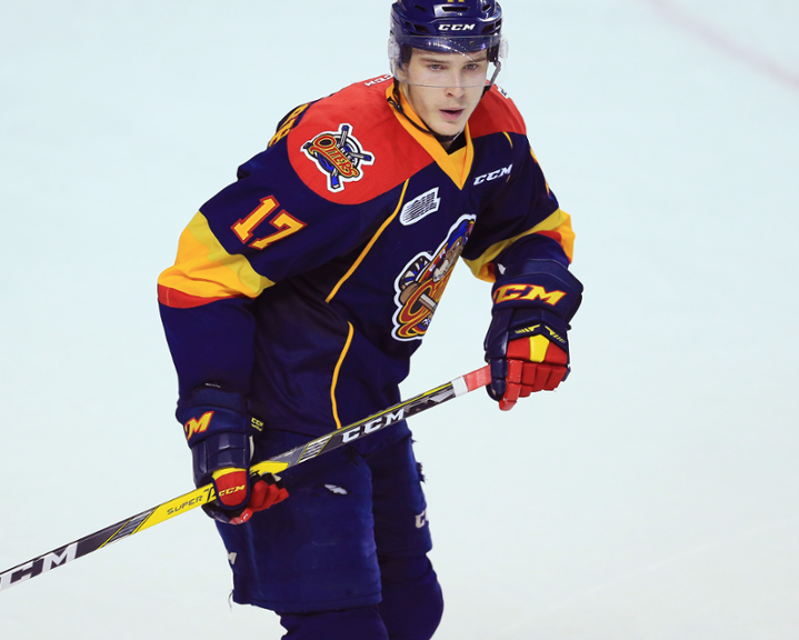 Taylor Raddysh (above) was traded to the Greyhounds at the 2018 trade deadline. (Photo by Vaughn Ridley / Getty Images)
