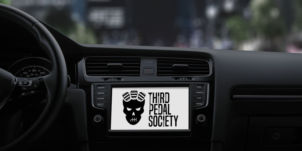Above: Head unit display