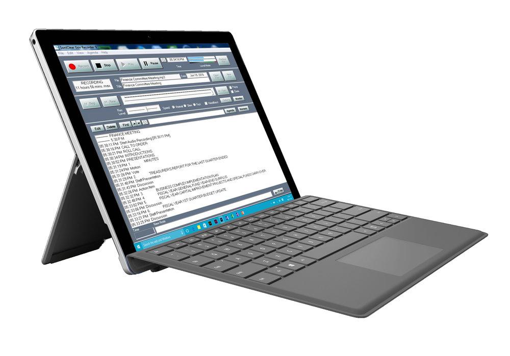 Copy of Tablet Recorder