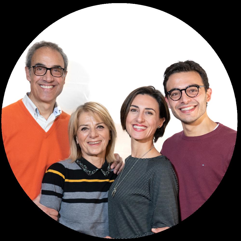 Mila, Daniele Franca e Antonio - RESPONSABILI ALATRI