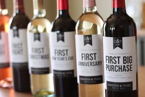 Custom Wine Labels Spirits Of Norway Vineyard
