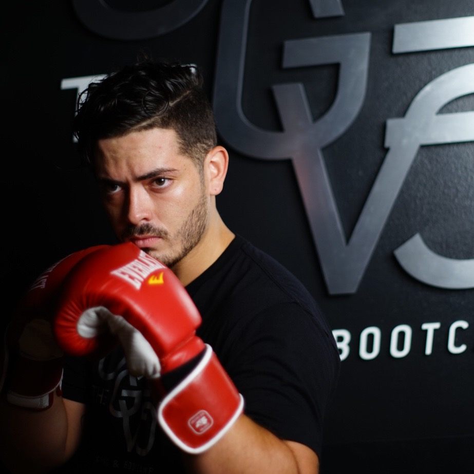 Juan Martinez   Assistant instructor with 5 years of experience in amateur boxing. Creates an environment of music, lights and ambience that inspires the best of each student.