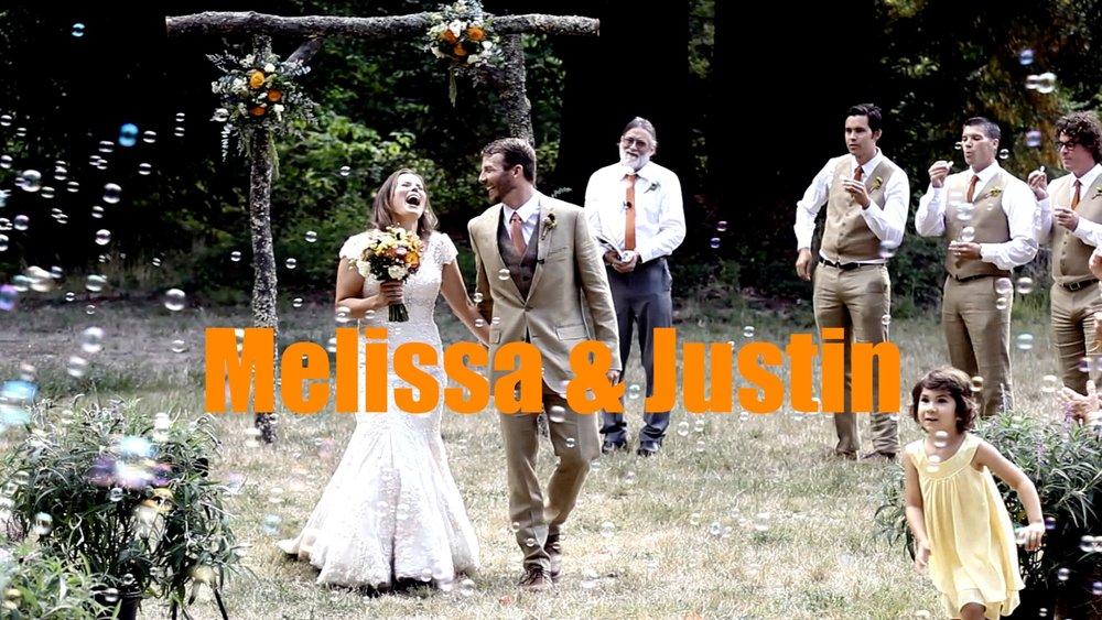 A wedding at Camp Butano Creek.