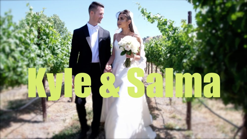 The teaser for the wedding film of Kyle and Salma.