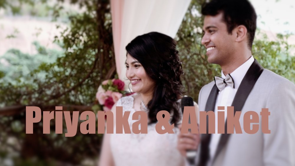 The teaser for the upcoming wedding film of Aniket & Priyanka's wedding at Bella Montagna in San Jose.