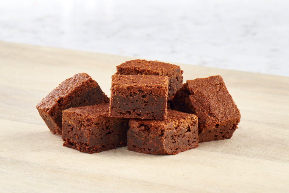 CBD FUDGE BROWNIES   Delectably delightful and simple brownies with low THC and high CBD.  View Ingredients