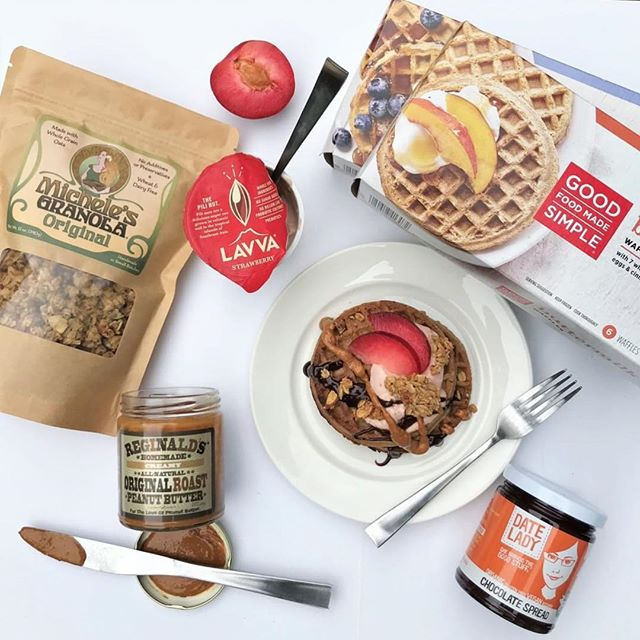 We've partnered with some of our favorite brands to give you all the waffles + toppings you'll ever need for #WaffleWednesday. 🙌 How to enter: 1. Like this photo 2. Follow @goodfoodmadesimple, @micheles_granola, @lovvelavva, @reghomemade, & @thedatelady  3. Tag a friend who loves waffles! (Multiple entries welcome. One tag per comment.) Giveaway ends 9/30 @ 11:59pm and winner will be announced next week. Open to US residents only. This is not an Instagram sponsored content.