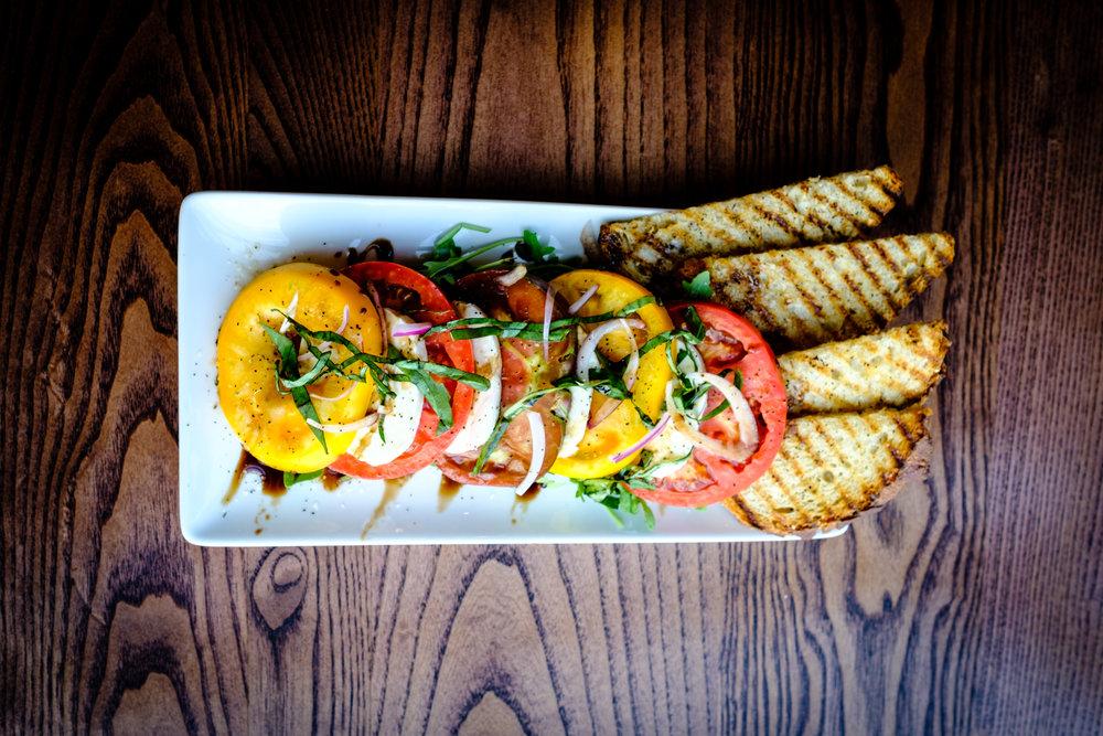 Summer Tomato Salad. MELT Kitchen and Bar. Greensboro, North Carolina.