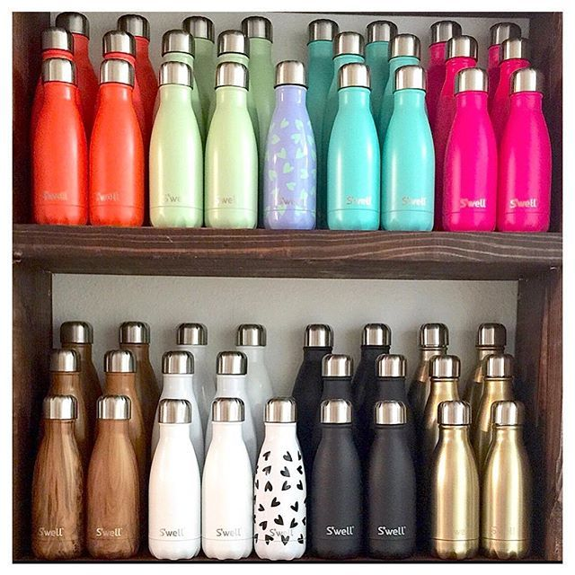 Swell(r) bottles to keep you hydrated - beautifully
