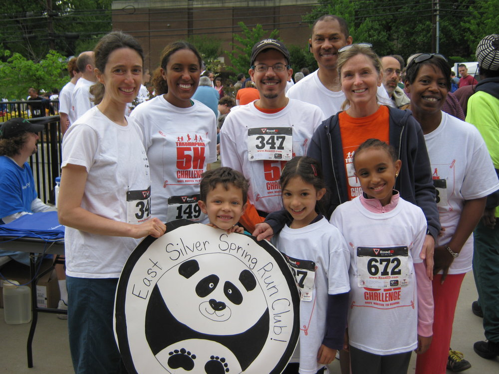 East Silver Spring ES Run club represents!