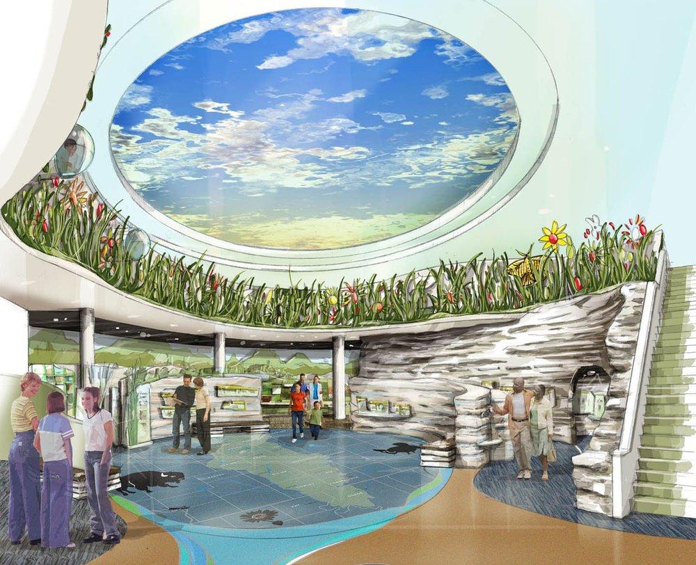 Flint Hills Discovery Center concept