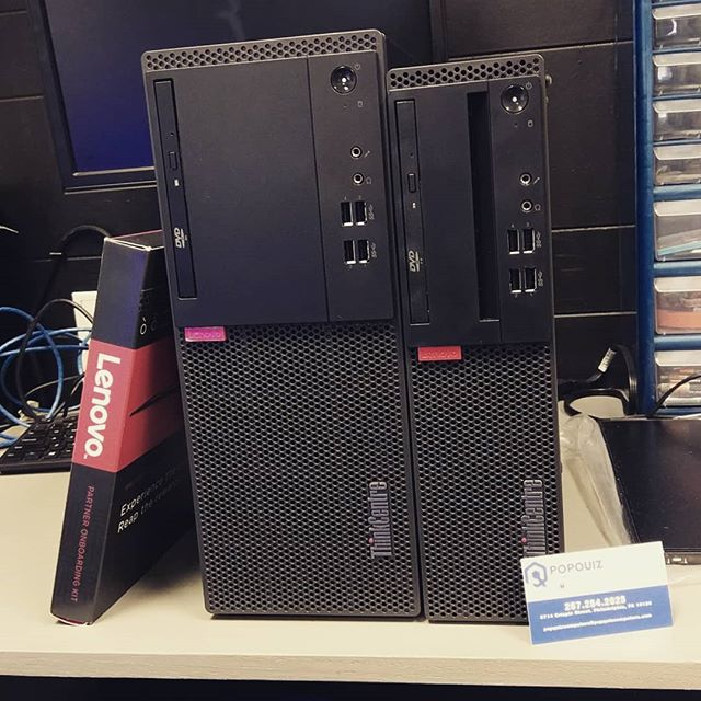The first of many purchases from our Partner @lenovous . Can't wait to do more business.  Give us a call if your in need of a new PC. If you know of any organizations in need of an upgrade we also handle deployment projects of any size!  #philadelphiacomputerrepair #philadelphia #philadelphiacitygivernmentneedsnewcomputers  #newcomputers
