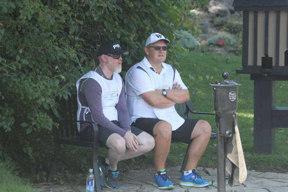 Hot Weekend - Caddies earned their keep this weekend - with humidity bringing temps over 40 degrees