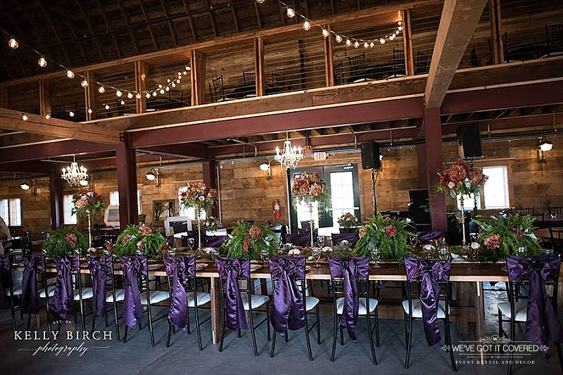 Photography:  Kelly Birch Photography   Venue:  Historic Furber Farm   Vintage Plates: Rustic Elegance Weddings & Events   Floral:  Sweet Peas Floral