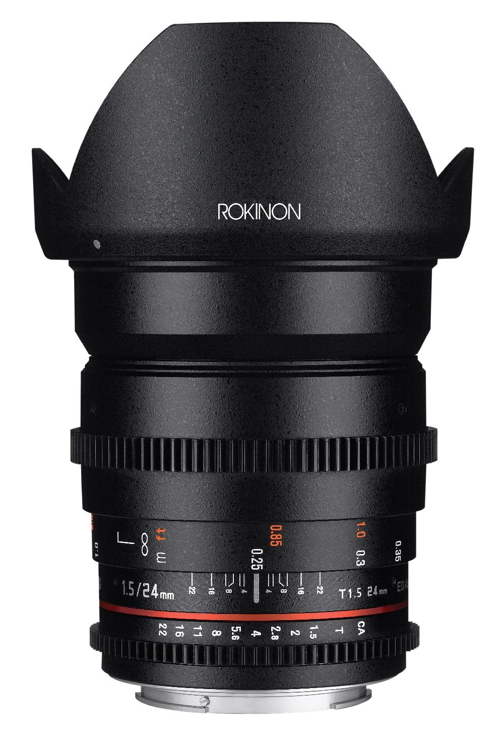 Rokinon 24mm Cine T/1.5 -