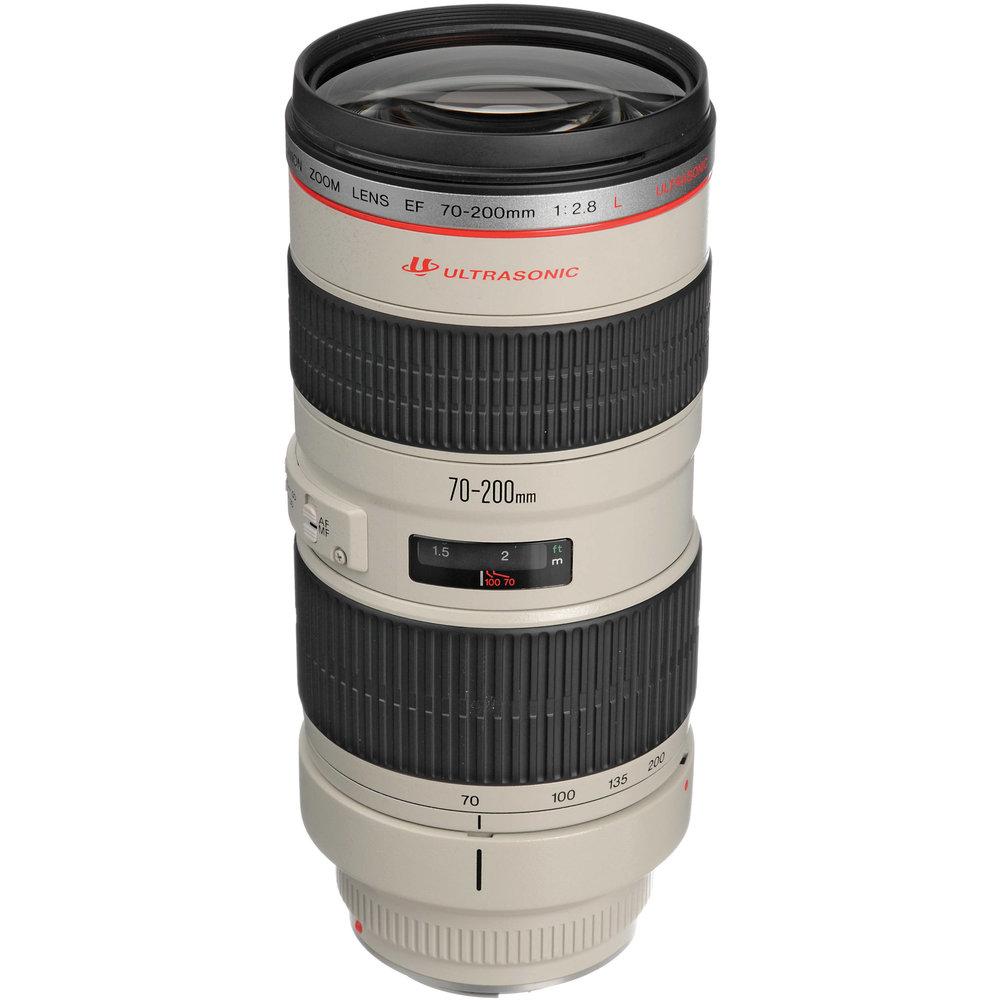Canon EF 70-200mm F/2.8L IS II -